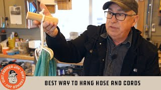 Best Way to Hang Hose and Cords