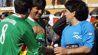 Décès de Diego Maradona :