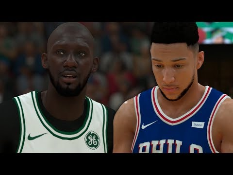 NBA 2K19 Tacko Fall My Career Ep. 14 - THRILLER Comes Down to the Wire!