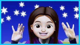 Yıldızlar Parıl Parıl Parlar - Eğlenceli Çizgifilm ve Dans Şarkısı