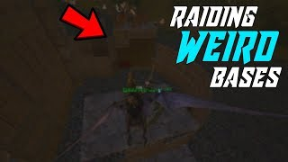 Raiding Weird Base Designs Ark Survival Evolved Official Small Tribes #9