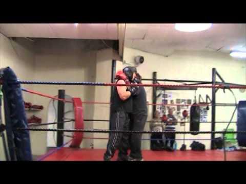 John Roodt at Boxing Fitness in Boksburg