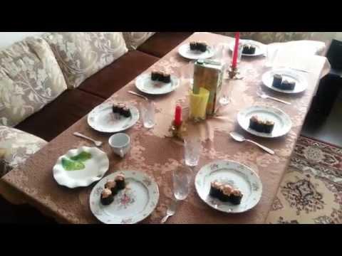 Обзор на еду #5 Легкий рецепт СУШИ - ГУНКАН