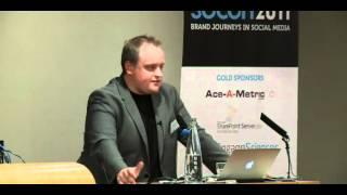 Ritch Sibthorpe VP Digital Marketing, Warner Music Group presents at SoCon2011