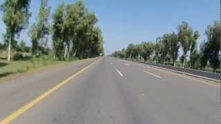 Lahore to Islamabad on Motorcycle via Motorway in HD - Part 3 of 6