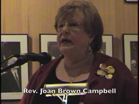 Rev. Joan Brown Campbell (2005) at Robert H. Jackson Center