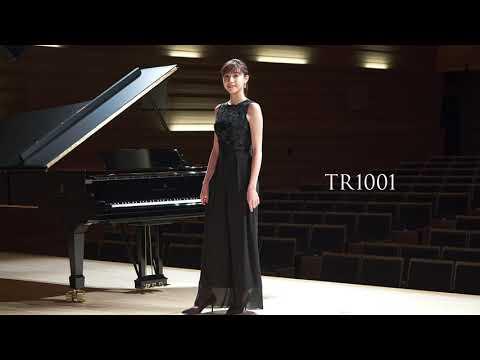 【荒井里桜コラボドレス】 TWEED DRESS × RIO ARAI ARTIST Collaboration 【TR1001】