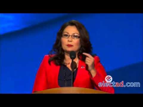 Tammy Duckworth Addresses The DNC, Charlotte, North Carolina - September 4 2012