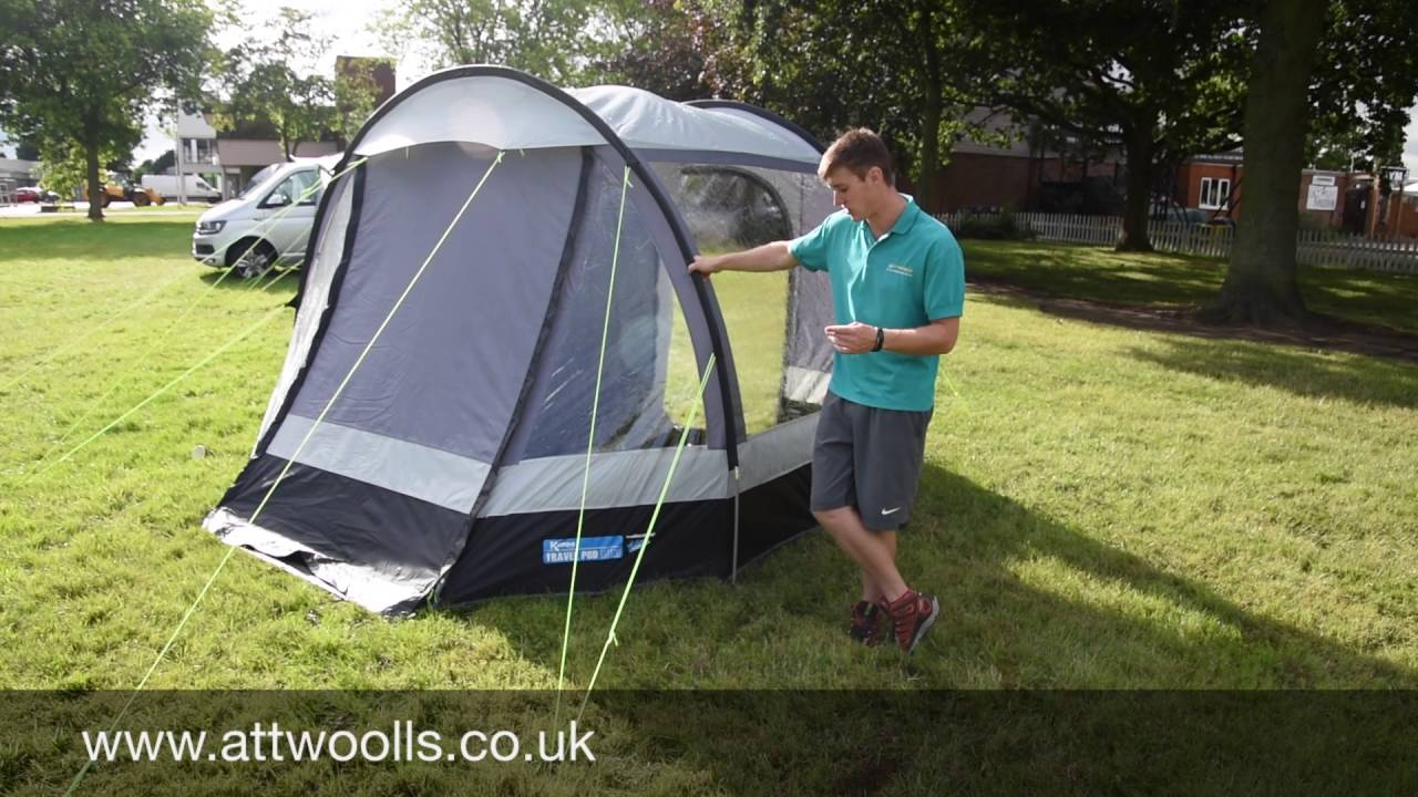 Kampa Travel Pod Mini Awning Review Youtube