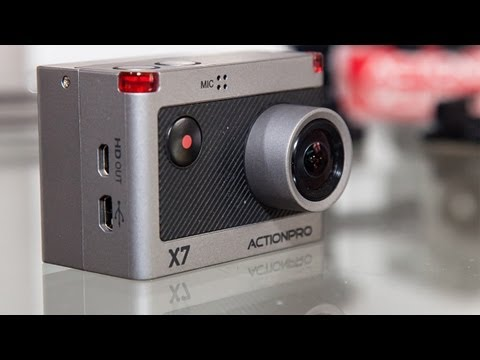 ACTIONPRO X7-Test Full HD 60FPS | Mic-Volume 30%-60%
