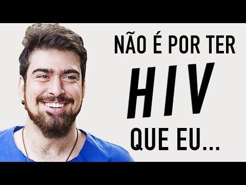 NÃO É POR TER HIV QUE EU - Põe Na Roda