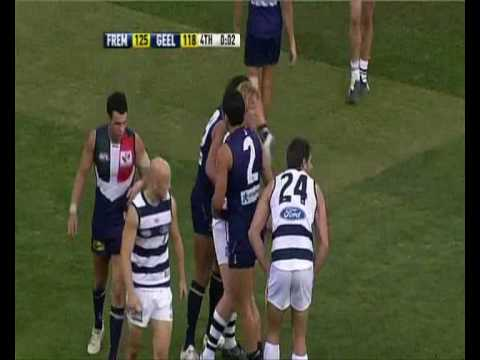 Fremantle comeback against Geelong 2010