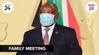 WATCH LIVE   President Cyril Ramaphosa to address the nation as Covid-19 cases continue to increase