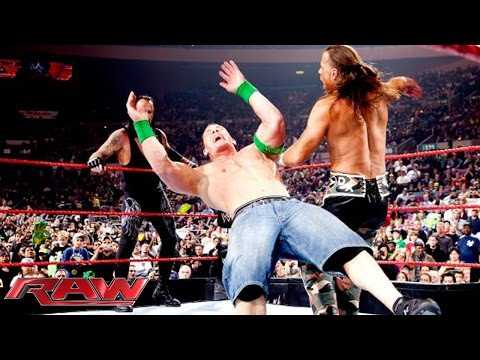 John Cena & The Undertaker vs. DGeneration X vs. Jeri: Raw, November 16, 2009