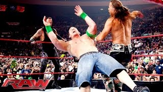 vuclip John Cena & The Undertaker vs. D-Generation X vs. Jeri-Show: Raw, November 16, 2009