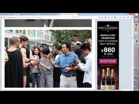 Cast of 300 Gets Arrested and Assaulted by Beijing Police China Ratchet Daily 81