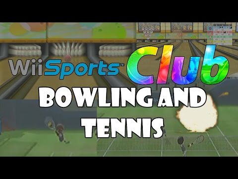 Wii Sports Club Bowling and Tennis (Funny Moments Montage Part 2)