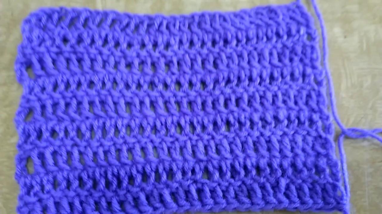Basic Double Crochet Patternin Marathi