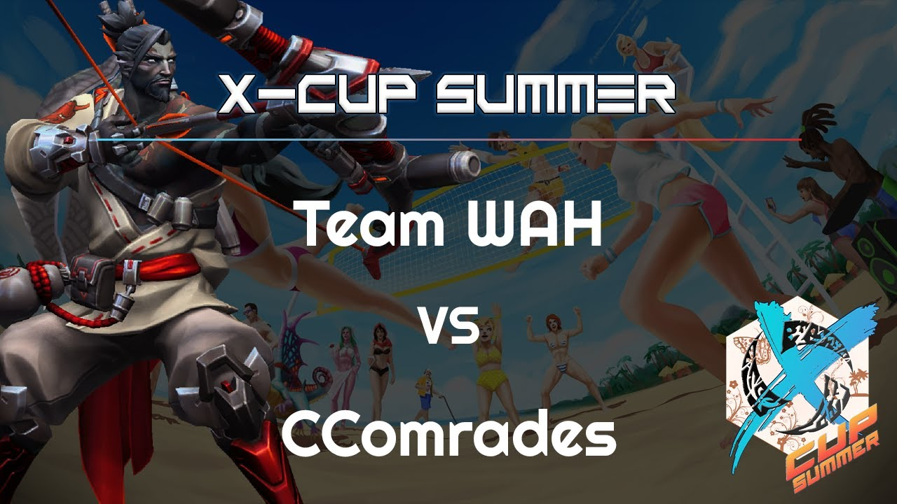 Team WAH vs. CComrades - X Cup Summer - Heroes of the Storm 2021