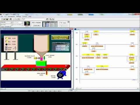Видео Máquina de fazer sabão programada em ladder
