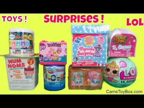Surprise Toys LOL Lil Sisters Popcake Care Bears Fashems Num