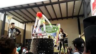 payaso guzmancito actos de circo plaza altea