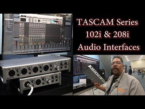 Tascam Series 102i & 208i Audio Interfaces - NAMM 2019