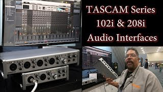 Tascam Series 102i & 208i Audio Interfaces - NAMM 2019