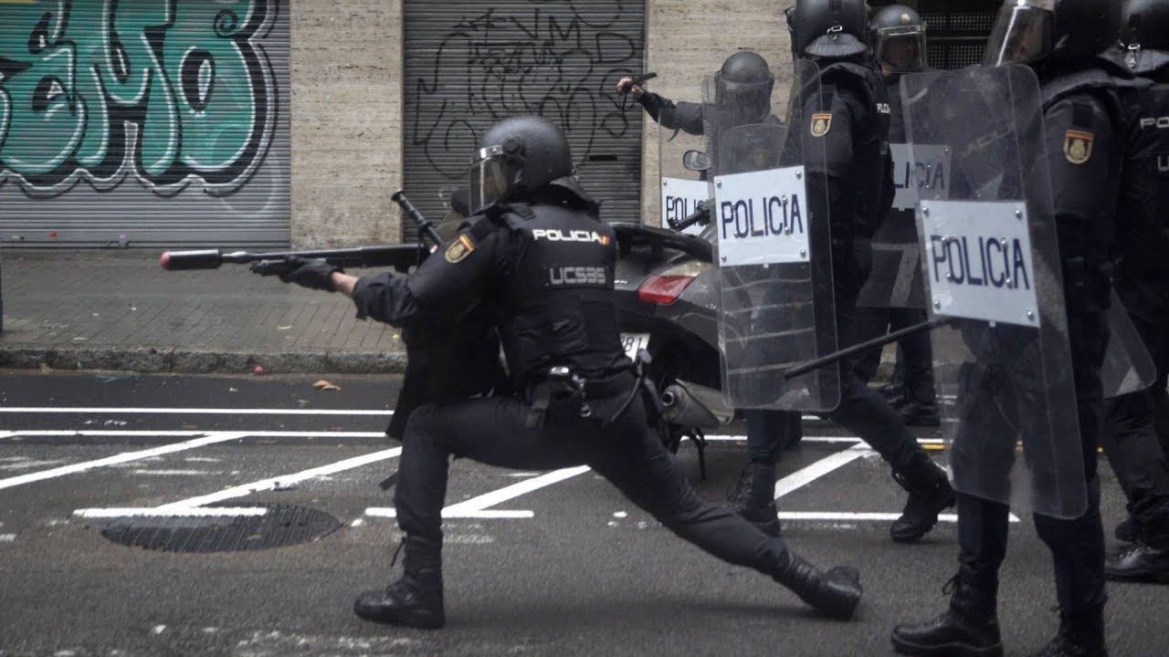 violence policiere referendum catalogne independance