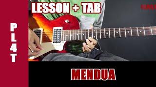 Belajar Gitar Plat Band Mendua - Guitar Lesson + TAB