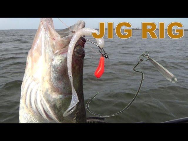 ловля на джиг риг видео