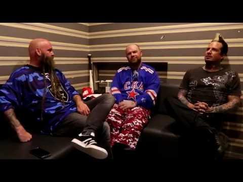 Five Finger Death Punch interview for Radio Rock Online