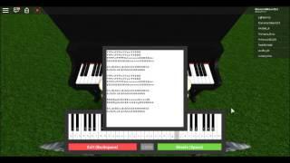 Demons on Virtual piano | ROBLOX