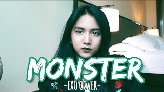 Monster - EXO 엑소 (cover) by Keshya 13y/o