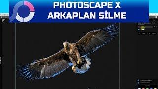 PhotoScape X -Arkaplan Temizleme