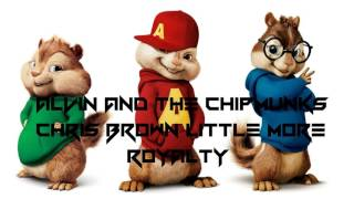 Chris Brown Little More (Royalty) Alvin And Chipmunks Version