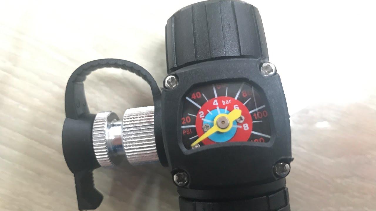 BARBIERI New VisionAir - Pompe Manuelle + CO2