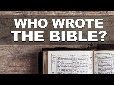 Who Wrote The BIBLE?  Must Watch!