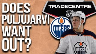 Will the Oilers trade Puljujarvi?