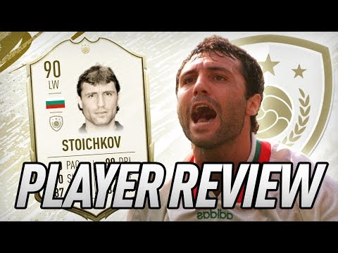90 STOICHKOV ICON PLAYER REVIEW! - FIFA 20 Ultimate Team