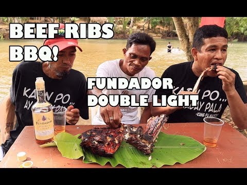 BEEF RIBS BBQ | FUNDADOR DOUBLE LIGHT | CLEAN RIVER