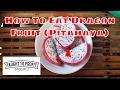 How To Eat Dragon Fruit (Pitahaya)