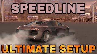 SpeedLine Ultimate Setup + Test Drive! (Audi R8) CarX Drift Racing