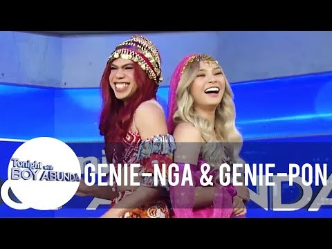 It's Showtime's Genie-Nga And Genie-Pon Visit Tito Boy | TWBA