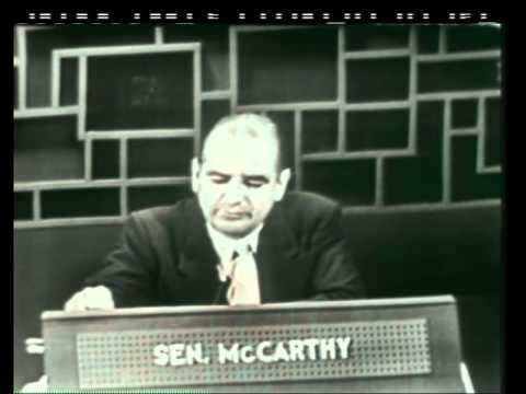 Sen. Joseph McCarthy on Face the Nation