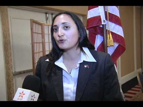 Moroccan American Presents  State Department official from US Consulate in Casablanca Morocco