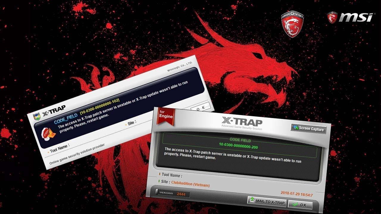 [HDG] Khắc phục tình trạng cập nhật X-Trap game Audition VTCGame không thành công trên Launcher Lite