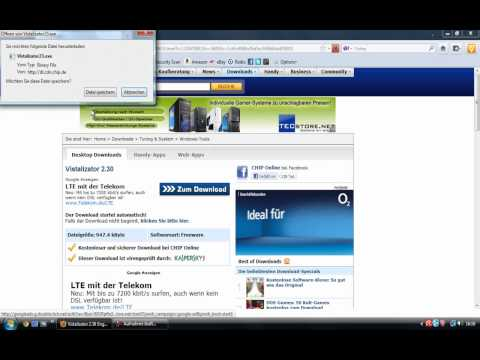 Windows Vista/7 Sprache ändern