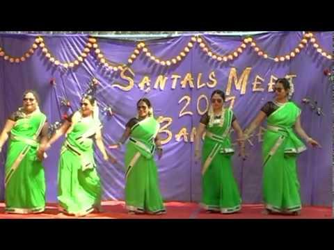 BARIPADA KURI AAM KURI CHAKACHAH / SANTHALI DANCE PERFORMANCE / BANGALORE SANTALS MEET 2017