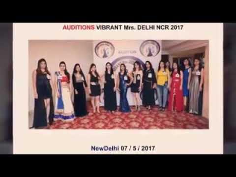 Vibrant Mrs Delhi Ncr 2017 Youtube
